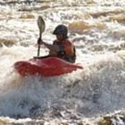 Kayak 4 Art Print