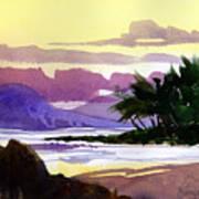 Ko Olina Sunset Art Print