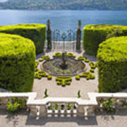 Lake Como,villa Carlotta, Italy Art Print