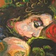 L'amoureuse  Art Print
