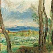 Landscape Mediterranean Art Print