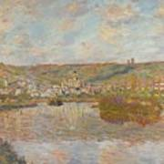 Late Afternoon Vetheuil Art Print