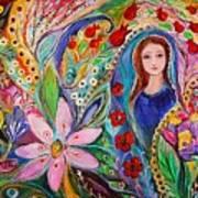 Leah And Flower Of Mandragora Art Print