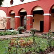 Lima Peru Garden Art Print