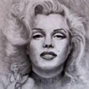 Marilyn Art Print by Jack Skinner