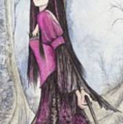 Mis Witch  Art Print
