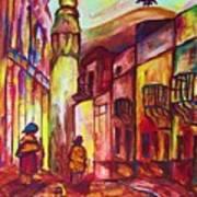Montmartre  Art Print