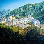 Papigno Village Art Print