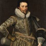 Portrait Of A Nobleman Art Print
