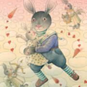Rabbit Marcus The Great 06 Art Print