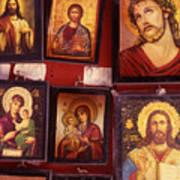 Religious Icons Art Print
