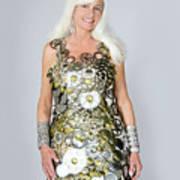 Sara In Clockwork Dragon Dress  Art Print