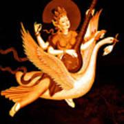Saraswati 4 Art Print