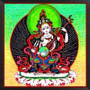 Saraswati 6 Art Print