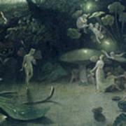 Scene From 'a Midsummer Night's Dream Art Print