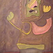 Sitting Stone Art Print