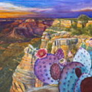 South Rim Wonders Print by Jany Schindler
