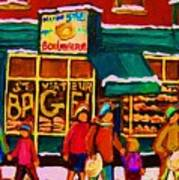 St. Viateur Bagel Family Bakery Art Print