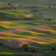Steptoe Butte 10 Art Print