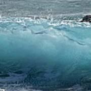 Surf Starter, Kekaha Beach Art Print