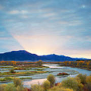 Swan Valley Sunrise Art Print