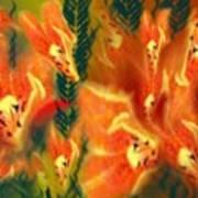 Symphonic Dance Art Print