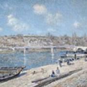 The Beach At Saint Mammes Art Print