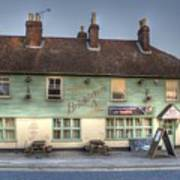 The Bricklayers Arms New Hythe Art Print