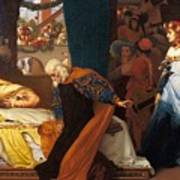 The Feigned Death Of Juliet  Art Print
