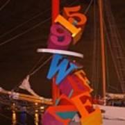 The Night Sail Art Print