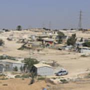 Unrecognized, Beduin Shanty Township  Art Print
