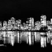 Vancouvers Silver Lining  Art Print