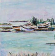 Venice Lagoon Art Print