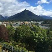 View From Top Of Castle Hill Sitka Alaska 2015 Art Print