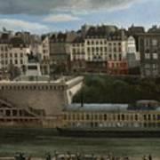 View Of The Seine Art Print