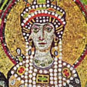 Theodora (c508-548) Art Print