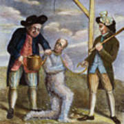 Tarring & Feathering, 1774 Art Print