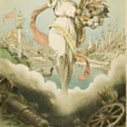 Atlanta Exposition, 1895 Art Print