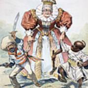 Imperialism Cartoon, 1896 Art Print