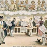 Foolish Forefathers, 1894 Art Print