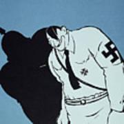 Adolf Hitler Cartoon, 1935 Art Print