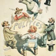 U.s. Cartoon: Businessman Art Print