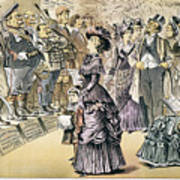 Marriage For Titles, 1895 Art Print