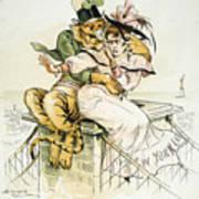 Political Cartoon Art Print