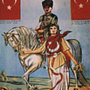 Republic Of Turkey: Poster Art Print