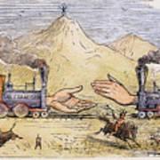 Promontory Point, 1869 Art Print