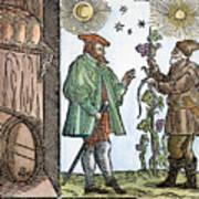 Wine Merchant, 1582 Art Print