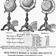 Maps: Globes Art Print