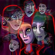 2636   Night In Their Eyes A Art Print
