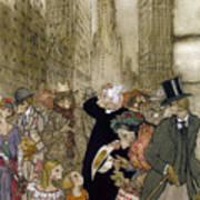 Rackham: City, 1924 Art Print